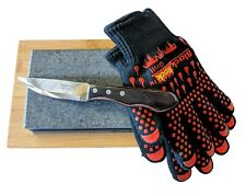 Black Rock Grill Hot Steak Stones Gift Set, Table Top Cooking Hot Rock Set