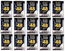 15 x Alcotec Turbohefe 48h  CLASSIC Gärhefe Hefe kostenloser versand