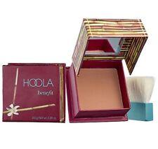 Authentic! Benefit HOOLA Face Powder & Brush TRAVEL .14 oz