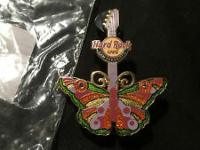 *NEW* Hard Rock Cafe Butterfly Series '11 Guitar Pin - San Francisco