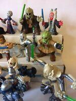 Lot Of 15 Star Wars Mini Action Figures Hasbro - flying machine(1)