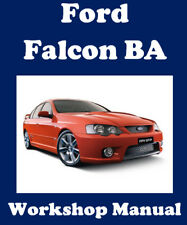 FORD FALCON BA 2002-2005 SEDAN, UTE + LPG WORKSHOP MANUAL DIGITAL DOWNLOAD