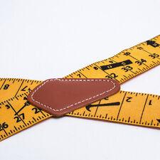 Men Trousers Pants Braces Heavy Duty 2inch 50mm Wide Yellow Tape Measurement CY2