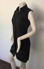 Zara Women Shirt Dress Size XS, Black