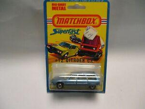 Matchbox Lesney Superfast SF12 Citroen CX- light blue, blistercard