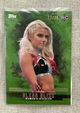 ALEXA BLISS /25 Green Variant 2017 WWE Topps Undisputed Base Rookie Card Women's