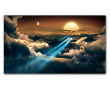 Leinwandbild Fantasie Science Fiction Ancient-Duality - 130x80cm GT Graphics