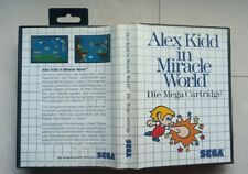 SEGA Master System Spiel Alex Kidd In Miracle World OVP CIB