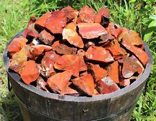 1/4 lb Bulk Lot Natural Rough Red Jasper (Raw Crystal Rock Mineral Brazil 4 oz)
