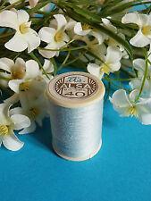 692b / Beautiful Coil Old Thread DMC Cotton Alsa No. 40 Sky Blue No. 775