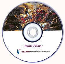 PRINT/SELL REPRO ANTIQUE MILITARY/BATTLES ART LITHOS (DISC)