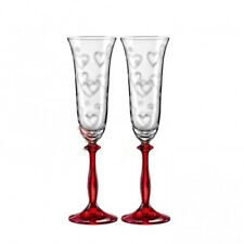 Personalized Wedding Unique Toast Champagne Wine Glass Flutes Mr Mrs Silver Gold