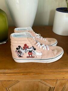 Mickey Minnie Flower Sk8 Hi-top Vans