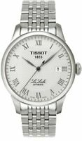 Tissot Le Locle Silver Dial Stainless Steel Automatic Men's Watch T41148333