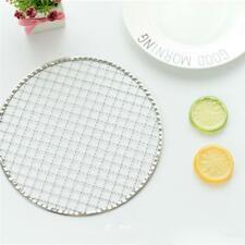 Stainless Steel Strong Barbecue Grill Intercrimp Woven Wire Mesh (Round) FW