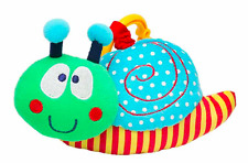Baby Elegance Silly the Snail BUGGY DANGLER Baby Toy Gift - New