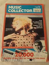 Aug 1990 MUSIC COLLECTOR - Madonna, Whitesnake. Elvis, All About Eve etc
