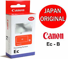 Genuine Canon Ec-B Focusing Screen Matte w/ Microprism & Horizontal Split Image