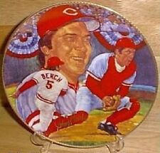 Johnny Bench Auto  10 ¼  Plate Ltd. Edt.