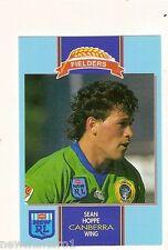 1993 FIELDERS RUGBY LEAGUE CARD - SEAN  HOPPE, CANBERRA RAIDERS