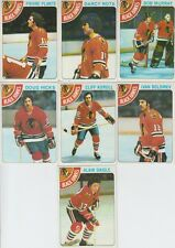 1978-79 Topps Hockey Blackhawks 7 Card Lot Darcy Rota VG-EX Cond. #47,89,117,135
