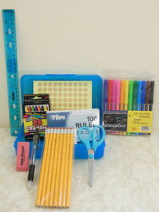 School Supplies - All-in-One First Day of School Pack (multiple colors)