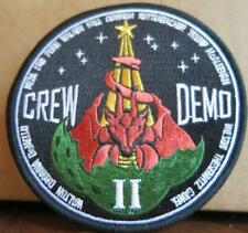 RANGE CREW DEMO-2 ASTRONAUTS LAUNCHING FROM U.S.SOIL MISSION PATCH - USSF CREW