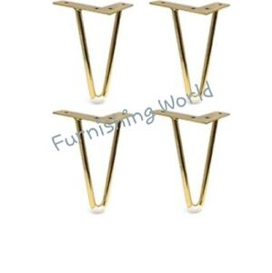 4 x metal brand new uk furniture legs new replacement Sofa Chair Cabinet stool