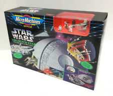 1994 Star Wars Death Star Micro Machines Playset- BOXED- Mint- Case Fresh