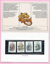 AUSTRALIA 1981  Presentation Stamp Pack - THE GOLD RUSH ERA - MNH