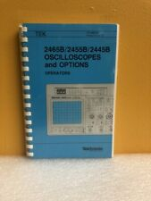 Tektronix 070 6860 00 2465b2455b2445b Oscilloscopes Options Operators