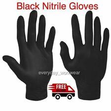 Black NITRILE GLOVES POWDER FREE MEDICAL DENTAL DISPOSABLE SALON SPA PINK