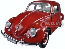 1961 VOLKSWAGEN BEETLE SALOON RUBY RED 1/12 DIECAST MODEL CAR BY SUNSTAR 5210