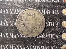 REGNO D'ITALIA VITTORIO EMANUELE II 1 LIRA STEMMA ARGENTO 1867 M COD. VITEMII-25