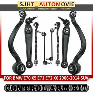 8x Front Lower Control Arm Kits for BMW X5 E70 X6 E71 E72 Left and Right 06-14