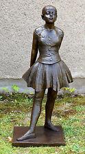 Großbronze - Vierzehnjährige Tänzerin - signiert Edgar Degas