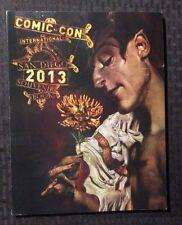 2013 SDCC San Diego Comic Con Souvenir Program VF+ Dave McKean Sandman Cover