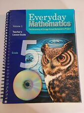Everyday Mathematics: Teacher's Lesson Guide Grade 5 volume 1 by Max Bell No CD