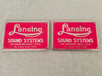Altec Lansing Iconic Speaker Badges (pair) PINK (Listing #3)