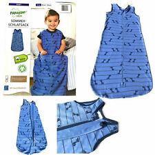 2er Set Baby Schlafsack Bio Baumwolle Strampelsack Dino Junge 0 -12 Monat Gr.70