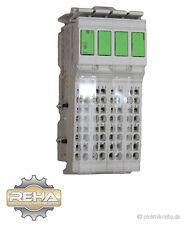 4x Rexroth R-IB IL AI 8/IS-PAC Inline Terminal