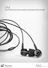Brainwavz M4 Noise Isolating Earphones