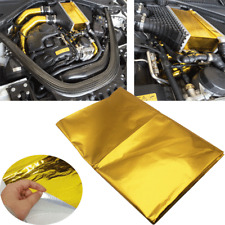 1x1.2M Reflect A Gold Heat Wrap Barrier For Thermal Exhaust Bulk Head Fuel Cells