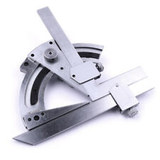 Stainless Steel Universal Vernier Bevel Protractor Angular Dial Measuring Tool