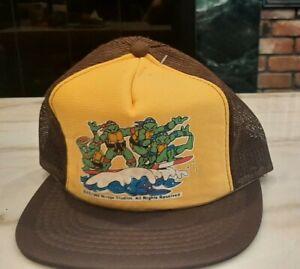 Vintage Teenage Mutant Ninja Turtle Cap 1989 Mirage Studios
