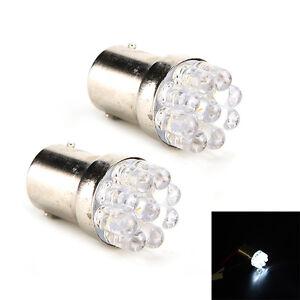 2xWhite 9 LED 1157 Replacement Car Stop Tail Bulb Lamp Light Creative Technol.mc