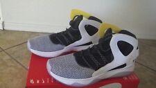 *NEW* Nike Air Flight Huarache ULTRA N7 Size 9 White Black Yellow Basketball KD