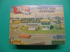 ATLAS FIRST AID STATION BUILDING FOR HO SLOT CAR LAYOUT COMPLETE MIB