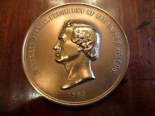 "Presidential 3"" Bronze medallion coin Franklin Pierce US Mint"