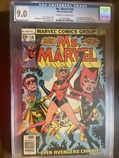 ms marvel 18 cgc 9.0 1978 1st Appearance Of Mystique.